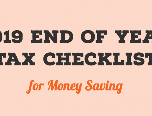 2019 End of Year Tax Checklist for Money Saving