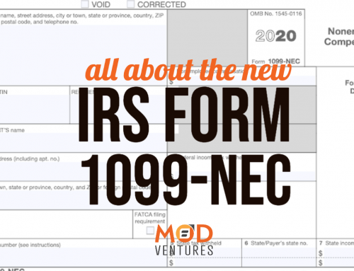 IRS Form 1099-NEC Regulations in 2020